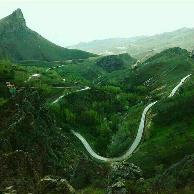 عکس ارسالی از روستای قوزلو-خورجهان